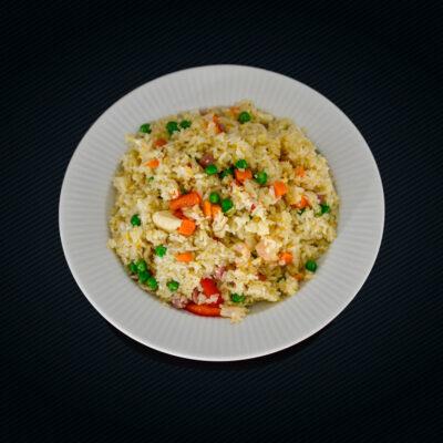 Stegte ris / nudler