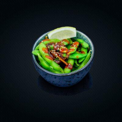 A4. Soya bønner med chili sauce